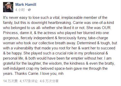 哈米尔的悼词