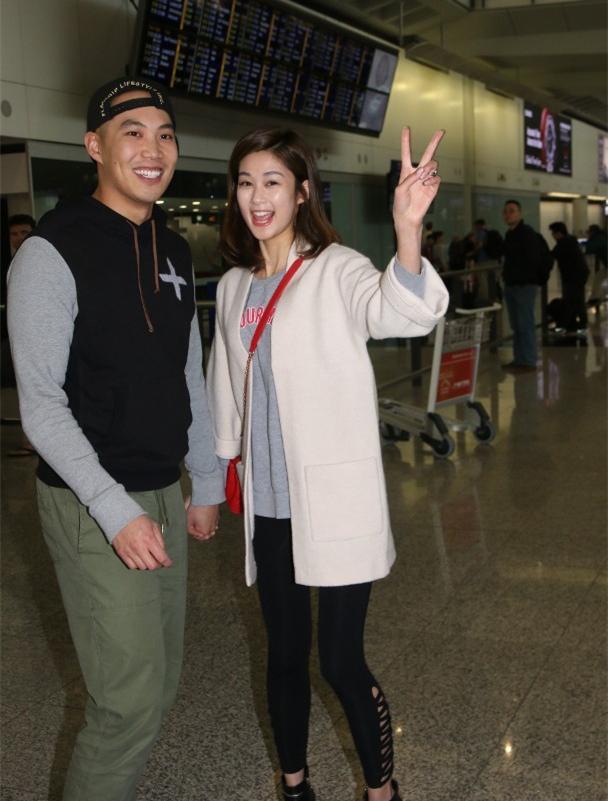 岑丽香与老公