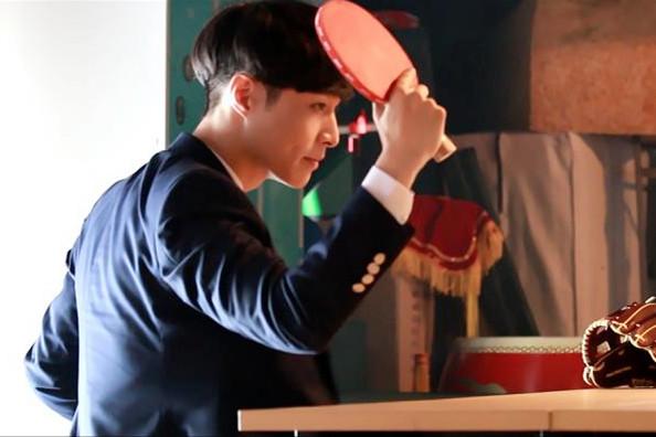 张艺兴无实物乒乓球