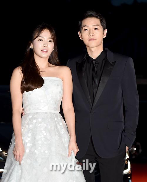 宋仲基宋慧乔当选韩国观众最希望在一起荧屏情侣
