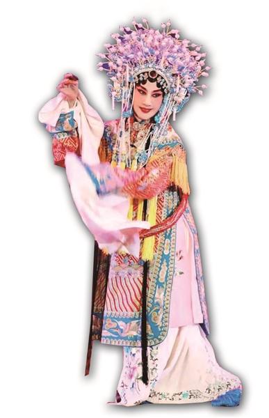 黄孝慈的古装扮相