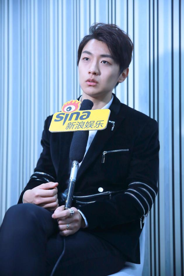 王青接受采访