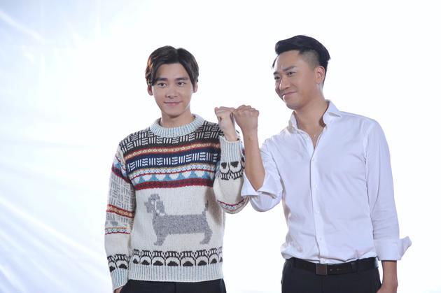 李易峰与郝为首次合作