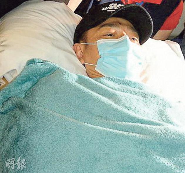 刘德华回香港入院治疗