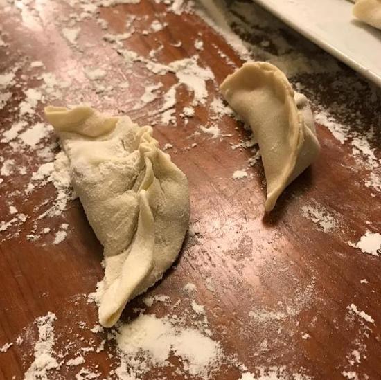 扎克伯格包的饺子