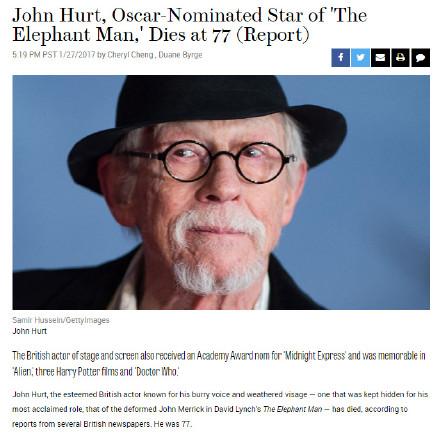 约翰赫特去世