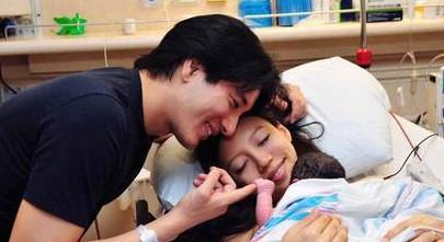 王力宏去年10月喜获二女儿(资料图)