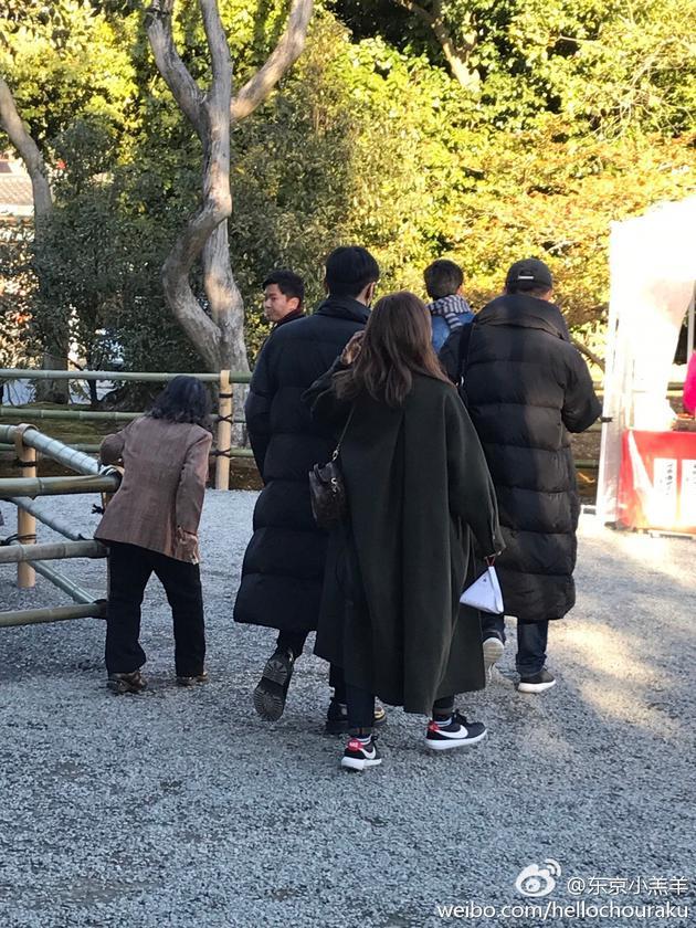 杨丞琳李荣浩京都度假甜蜜十足