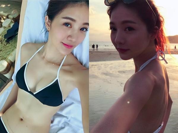 吴亚馨最近休假时常晒美照