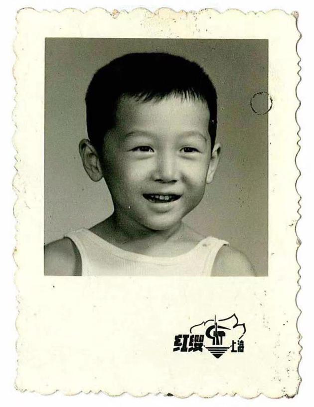 陆川儿时童年照