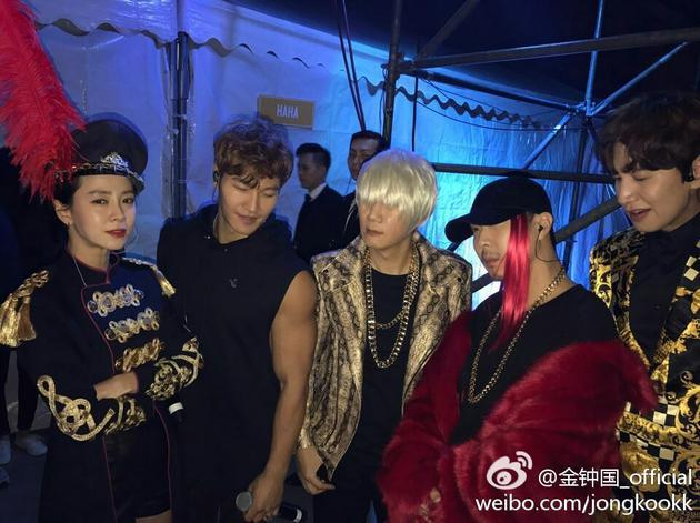 RM家族扮Bigbang