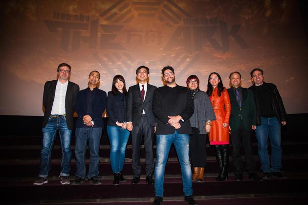 《钢铁苍穹:方舟》主创亮相柏林电影节