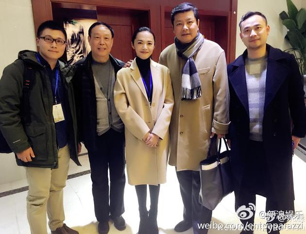 姚晨担任上海电影学院表演系招生考官