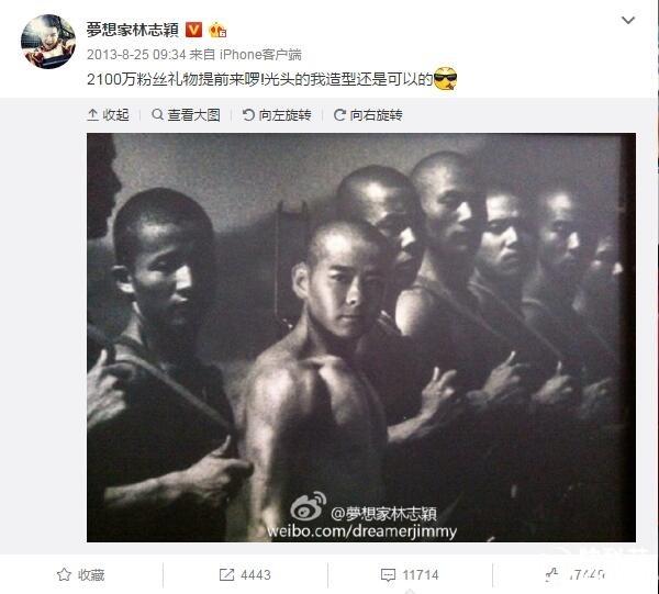 4年前林志颖分享了一张自己的PS照片被起诉