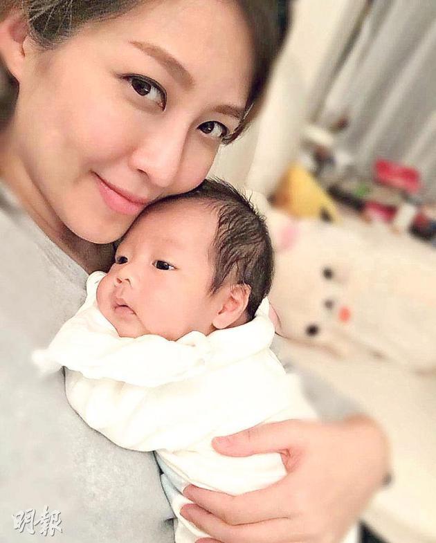 陈敏之视儿子为第一号爱人。