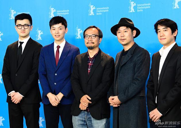 杨城和《好极了》导演刘健(视觉中国/图)