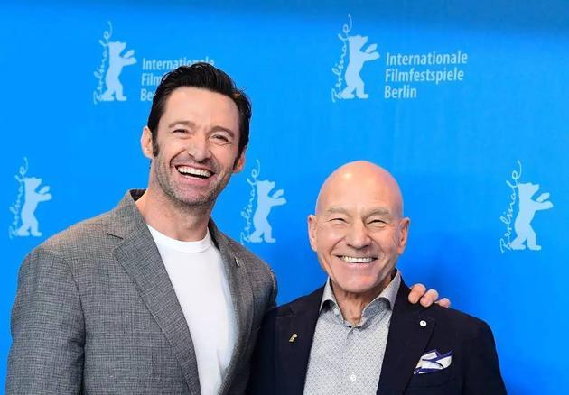 狼叔和X教授在柏林,笑得很开心的两位