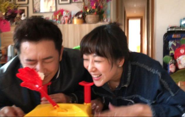 陈浩民与妻子玩砸派机