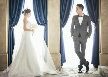 婚纱照曝光