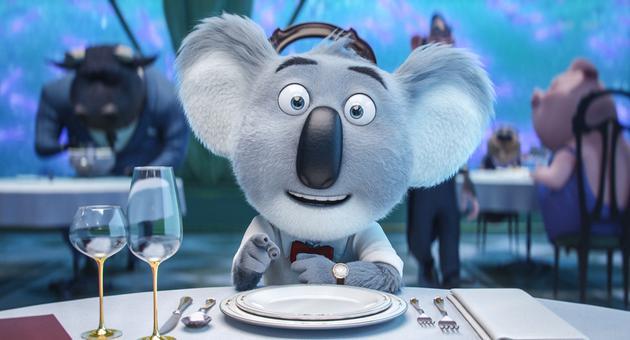 月伯乐在餐厅和好友埃迪讨论大计