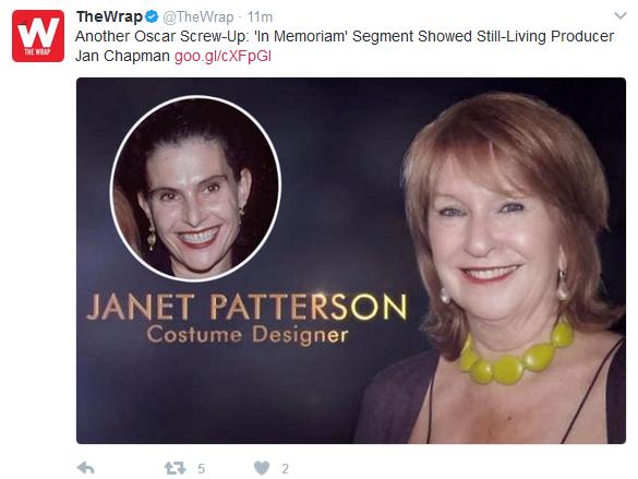 简·查普曼和珍妮特·帕特森弄混了