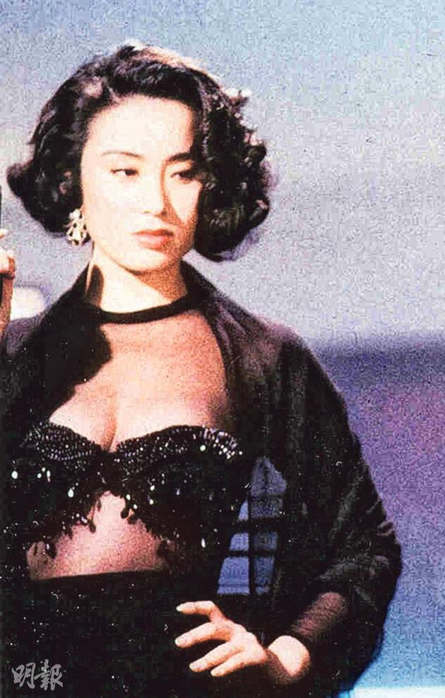 """张敏在《赌圣》饰演的""""绮梦""""是经典美女角色"""