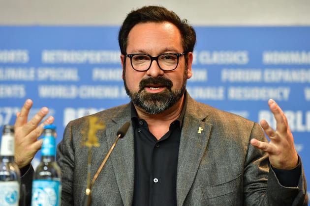 导演詹姆斯·曼高德在柏林电影节