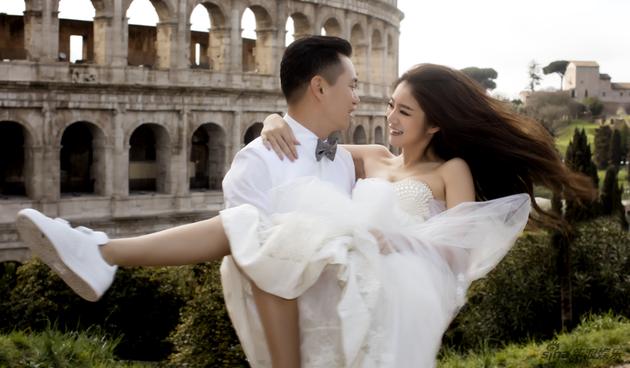 安以轩宣布与澳门富商陈荣炼结婚