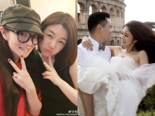 安以轩结婚陈妍希也是看微博才知道