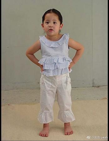 欧阳娜娜三岁婴儿肥