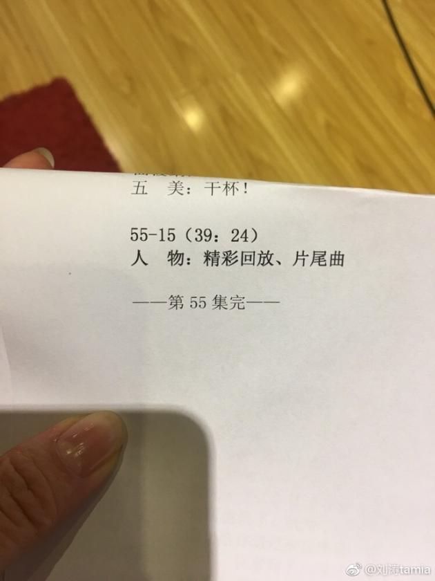 刘涛已经完成了《欢乐颂2》的全部配音