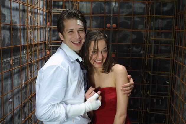 因为《两小无猜》,歌迪亚和卡内在银幕内外都是著名的情侣档