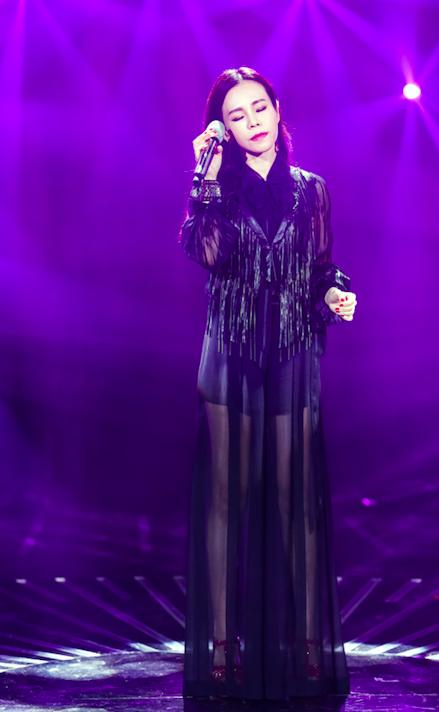 彭佳慧《歌手》舞台
