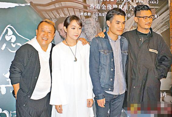 男主角余文乐和导演黄进及编剧陈楚珩,旋风式飞往台湾为《一念无明》宣传