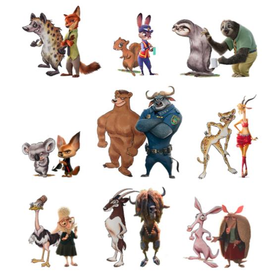 迪士尼《疯狂动物城》被告抄袭 原告列出多条证据