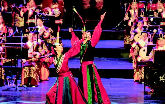 《孔府乐舞》穿越回古代 展现儒家文化魅力