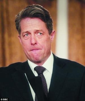 片中扮演首相的休・格兰特明显沧桑了很多,但跳舞和讲话依然备受称赞