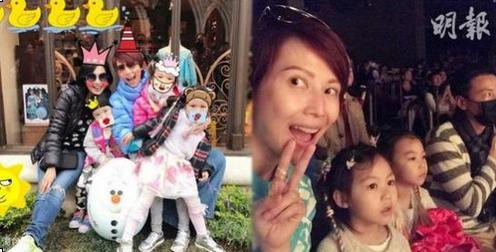 蔡少芬为女儿庆4岁生日