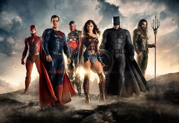 《正义联盟》超级英雄集结