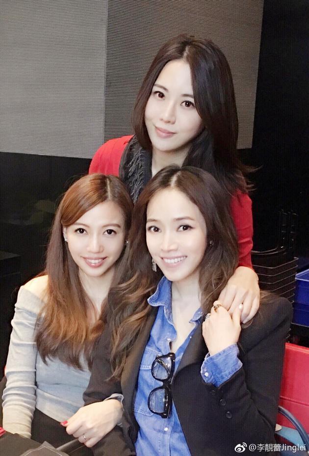 王力宏妻子李靓蕾、侯佩岑与陶喆妻子江佩蓉
