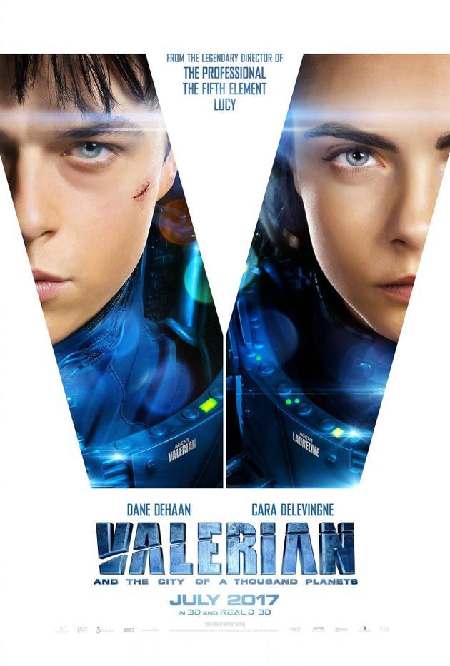 《星际特工:千星之城》今年暑期北美上映