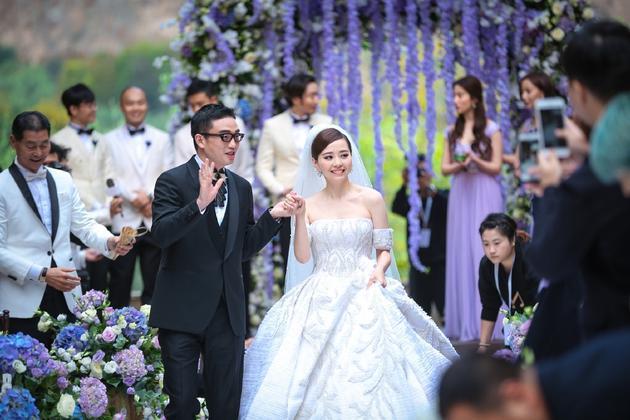 张靓颖婚礼