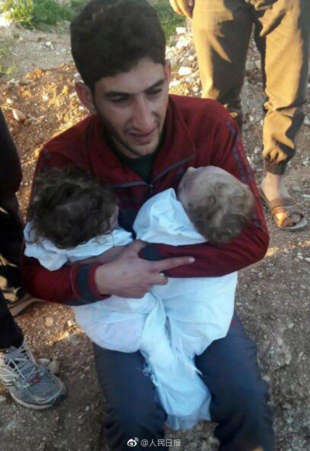 李冰冰等明星关注叙利亚毒气袭击事件  呼吁世界和平