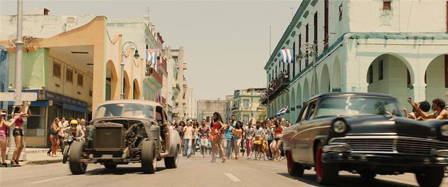 FF8成为好莱坞首次进军古巴街头拍摄的大片