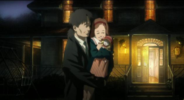 《攻壳机动队2:无罪》中陀古萨和他的女儿