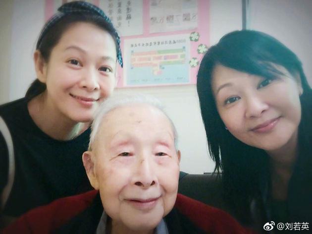刘若英父亲动心脏手术 发博称生活不易但常怀感动
