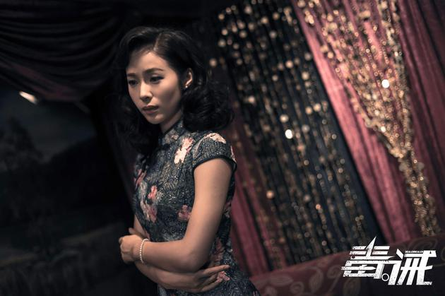 江一燕为电影《毒。诫》锦上添花
