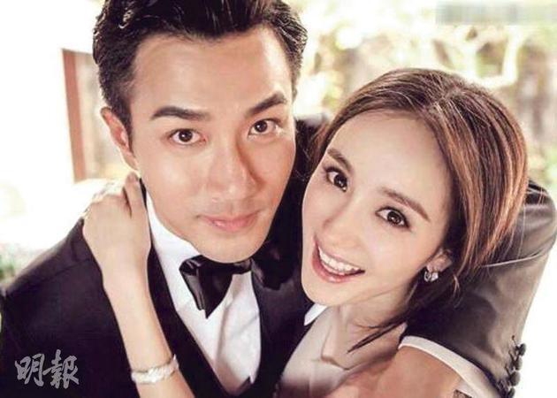 刘恺威与太太杨幂早前被拍到在女儿的校运会上零交流。