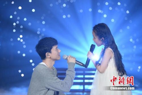 张杰和刘润潼对唱