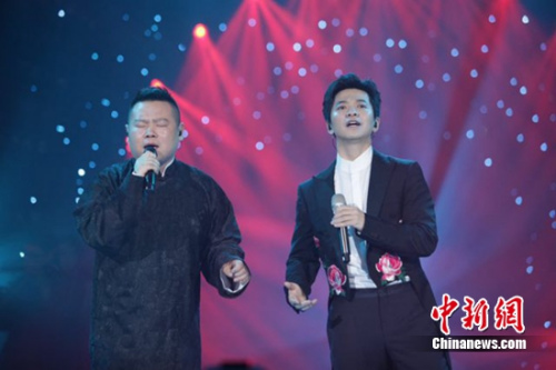 李健和岳云鹏合唱